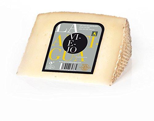 QUESERIA LA ANTIGUA DE FUENTESAUCO - Queso viejo de leche cruda de oveja (400gr Aprox.)