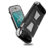 Jiarusig Compatible with Nintendo Switch Lite Case with Hand Grip, Slim Soft Nintendo Switch Grip Case Cover with Shockproof and Anti-Scratch Design Compatible with Nintendo Switch Lite 2019