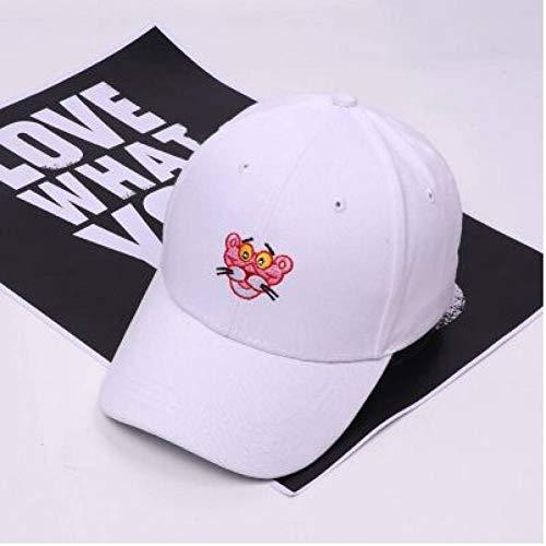 WXHXHW Gorra de Beisbol Pantera Rosa Gorra De Béisbol Snapback Hat Cap para Hombres, Mujeres, Papá, Sombrero, Hip Hop, Sombrero, Hueso, Casquette Ajustable