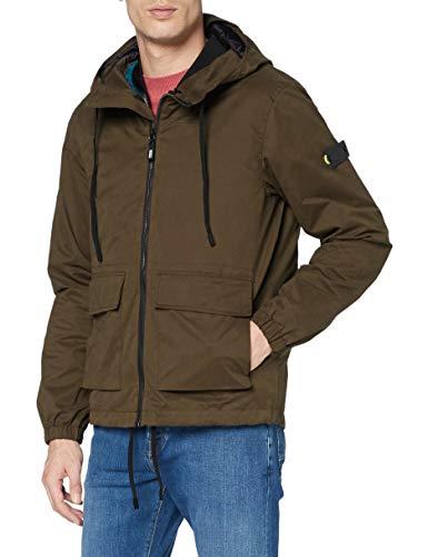 Scotch & Soda Sporty Jacket with Inner Gilet 159551, 0154 Military Green, XXL para Hombre