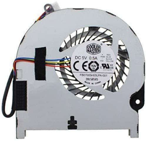 wangpeng New Laptop CPU Cooling Fan for Toshiba Satellite Fusion L55W-C5150 L55W-C5152 L55W-C5153 L55W-C5220 L55W-C5236 L55W-C5252 L55W-C5201S L55W-C5202S L55W-C5236X Series