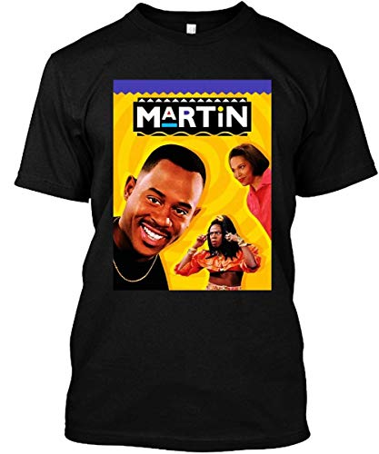 The Martin Lawrence Show Gina Shanaynay Martin Shirt Black