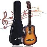 CNBLUE Acoustic Guitar Beginner Acoustic Guitar Kids Guitar For Beginner Adult Teen 1/2 Size Mini Acustica Guitarra Folk Guitar Steel Strings With Gig Bag (Sunset)