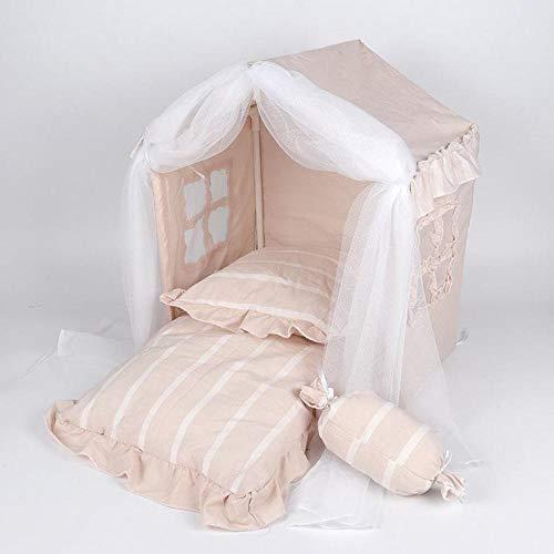 Zwinger Pet Tent Dog House Kreative Vier Jahreszeiten Princess House Katzennest Kann Entfernt Und Gewaschen Werden Hundebett Hundenest M40X35X50Cm B.