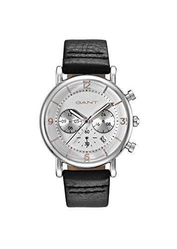 GANT TIME Herren Analog Quarz Uhr mit Leder Armband GT007001