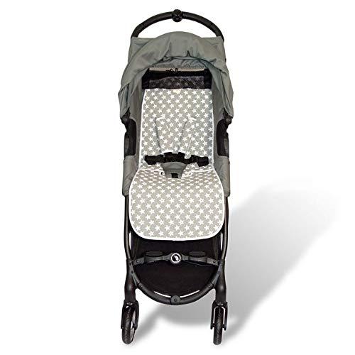 Fundas BCN ® - F160 - Colchoneta Para Silla de Paseo BabyJogger ® Citymini Zip ® - Diversos Estampados (Fun Vintage Star)