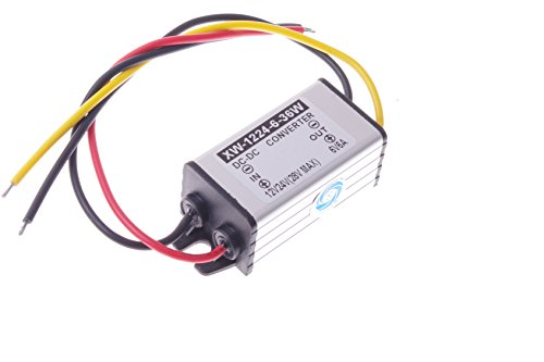 SMAKN DC-DC 12V to 6V 6A 36W Buck Power Converter/Step Down Power Supply Waterproof