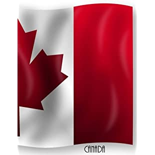 Canada Canadian Flag Notebook/Journal with 110 Lined Pages (8.5 x 11)