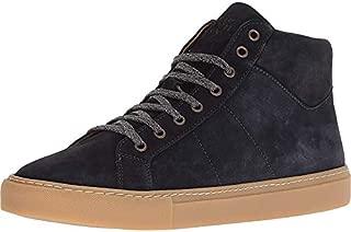 Mens High Top Suede Sneaker