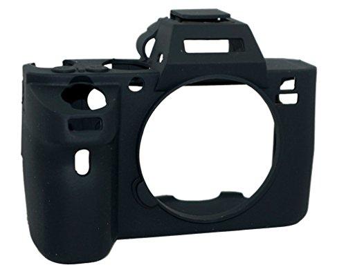 Camera Case gel in silicone protettiva in gomma morbida copertura del sacchetto compatibile per Sony Alpha A7ii / A7Rii / A7sii fotocamera nero