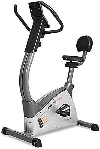 RTRD Indoor Exercise Bike,Indoor Cycling Bike with Chromed Flywheel,Dual Felt Pad Resistance with Caged Pedals,Adjustable Seat and Handlebar