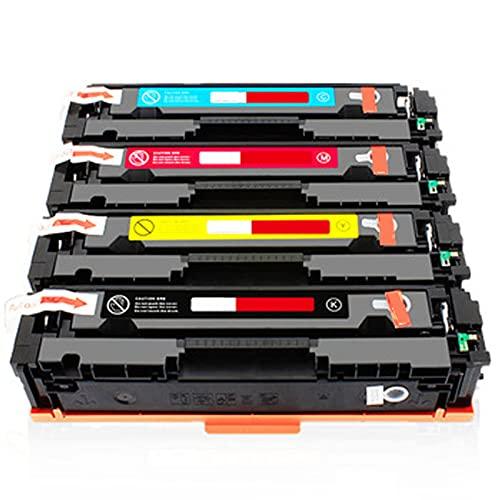 AXAX CF500A Compatible con reemplazo de Cartuchos de tóner HP CF500A para HP Color Laserjet Pro M254DN MFP280 Impresora, Equipo de Oficina Fácil de Instalar la impresión Combination
