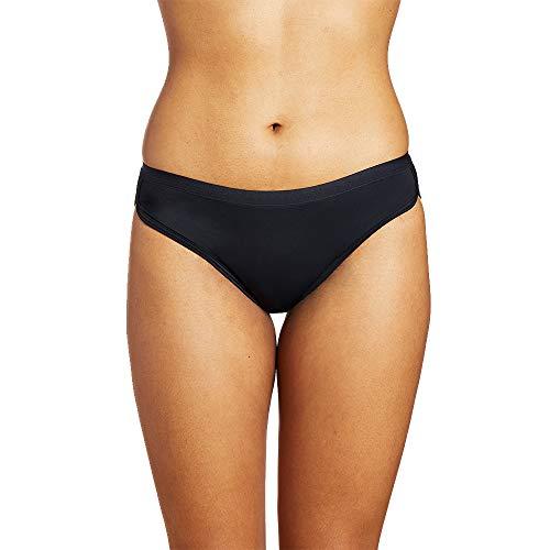 Thinx Sport Period Underwear | Menstrual Underwear for Women (Black, S)