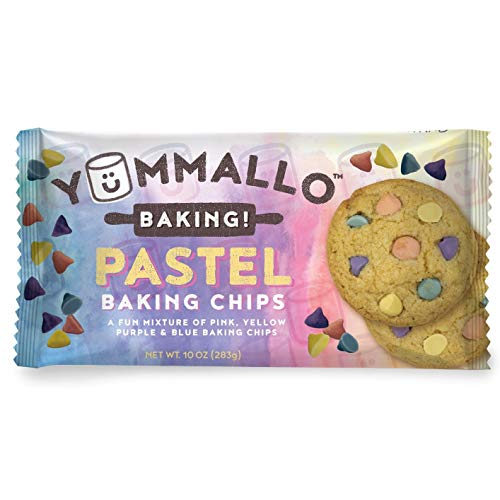 Yummallo Baking! - Fun Spring Pastel Baking Chips, 10 Oz