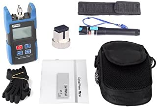 J-Deal TL510C Hand-held Optical Power Meter + TL532 10mW Visual Fault Locator Fiber Optic Cable Tester Meter for CATV CCTV Telecommunications Engineering Maintenance Cabling System