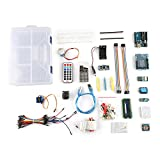 UNO Project Starter Kit Tutorial Controller Board with Learning Guide Compatible with 1602 LCD UNO R3