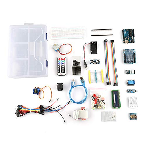 UNO Projekt Starter Kit Tutorial Controller Board mit Lernanleitung kompatibel mit 1602 LCD UNO R3