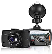 【Large LCD Screen】:Combined with 1080P Full HD 1920*1080 resolution, this dashboard cam can provide insurance claims to prevent disputes. Super large screen shows the real-time image, helps you clearly see every details when playing back and brings b...