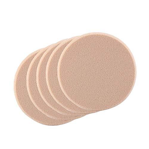 TTBDAN 10 Pcs Maquillage Fondation ÉPonge MéLangeur Puff Puff Lisse CosméTique Remover Pads Oeil du Visage Fard À PaupièRes Puff Outils Multifonctions, 5 Pcs