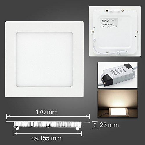 BAODE LED-paneel lamp 6-24W dimmer