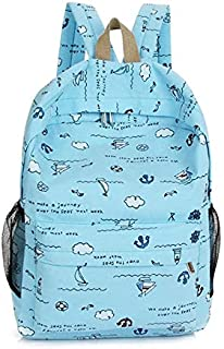 TCSLBP Fashion Canvas Backpack fabric student backpack female shoulder bag solid school or travel knapsack large casual rucksack