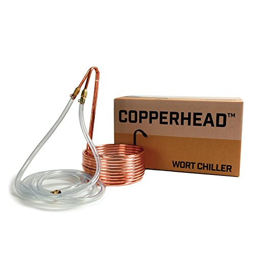 Copper Immersion Wort Chiller for Beer Brewing