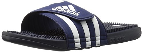 adidas Originals Men's Adissage Slides,New Navy/New Navy/Running White,8 M