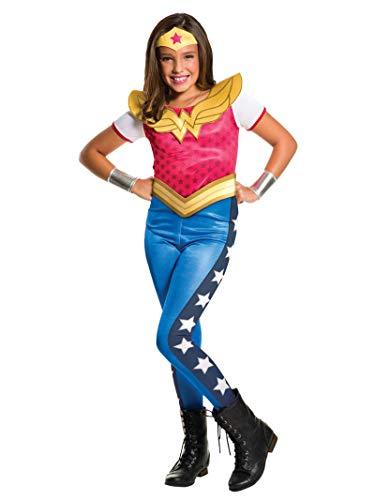 Rubie's-déguisement officiel - Wonder Woman - Déguisement classique pour fille Superhéros Wonder Woman - Taille Large (8-10 ans) - I-620743L