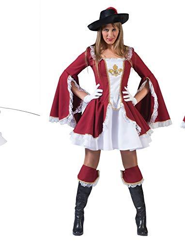 Funny Fashion Musketier Dame Adelais Größe 40/42