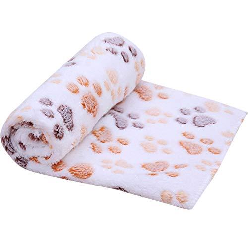Sulifor 80x60cm Hund Herbst und Winter warme doppelseitige Decke, hundeklaue Handtuch hundekatze Reinigungstuch pet schmutzig paw Teppich hohe saughandtuch
