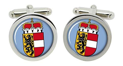 Geschenkshop Salzburg Österreich Manschettenknöpfe rund in Box