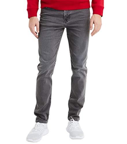 American Eagle Mens 4127090 Ne(x) t Level Slim Jean, Storm, Size 33W x 30L