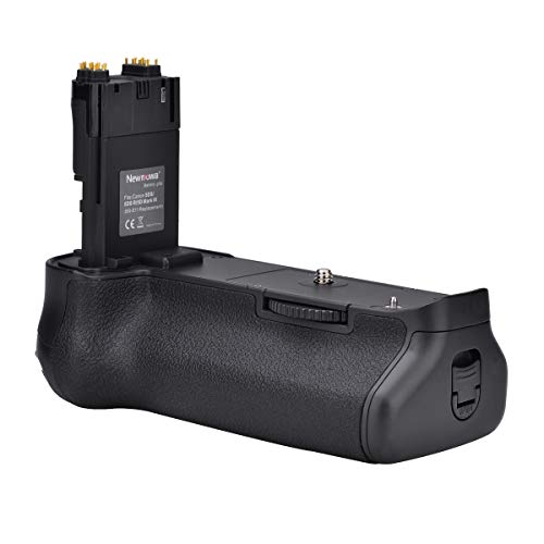Newmowa Mango de Repuesto Battery Grip para Canon EOS 5D Mark Ⅲ/5DS/5DSR Cámara réflex Digital
