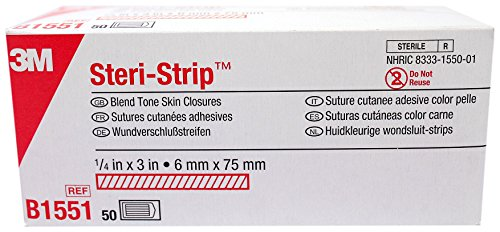 3M Steri-Strip Blend Tone Skin Closures (niet versterkt) - 1/2