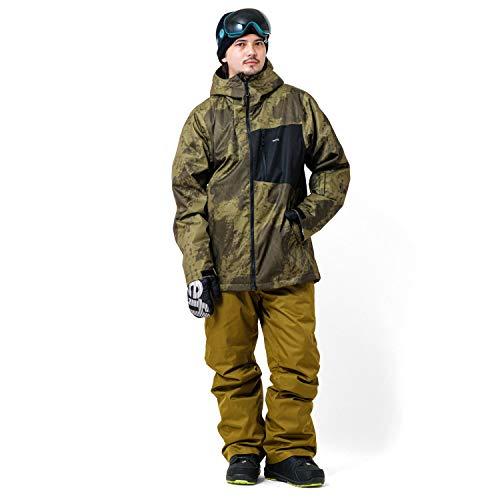 DLITE(ディライト) スノーボードウェア スキーウェア 上下セット [ メンズ / 全60パターン : FJK + OLPT/Mサイズ ] ジャケット パンツ セット