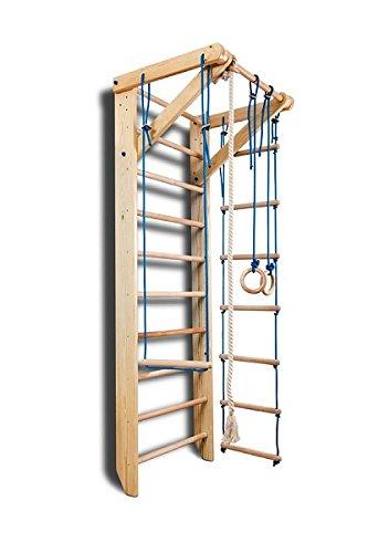 Escalera Sueca Barras de Pared Sport-2-220, Gimnasia de los niños en casa, Complejo Deportivo de Gimnasia