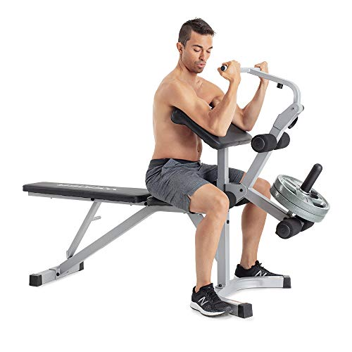 Weider Platinum Utility Bench, Black