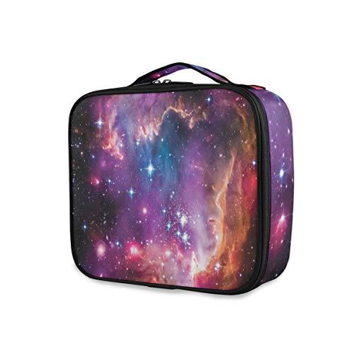 SUGARHE Galaxie Magellanic Wolken Sterne und buntes kosmisches Universum Ansicht Muster,Kosmetik...