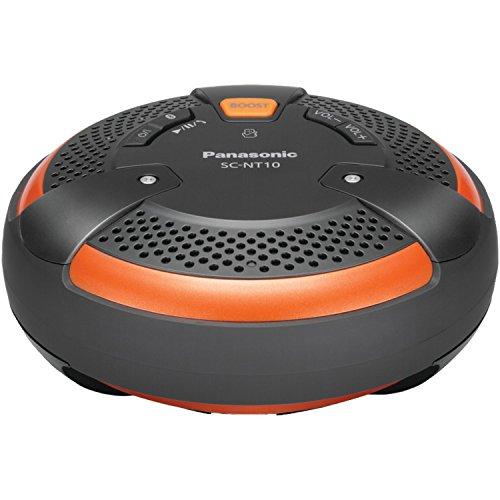 panasonic home audios Panasonic SC-NT10-D TOUGH BlueTooth Portable Wireless Speaker System (Orange/Black)