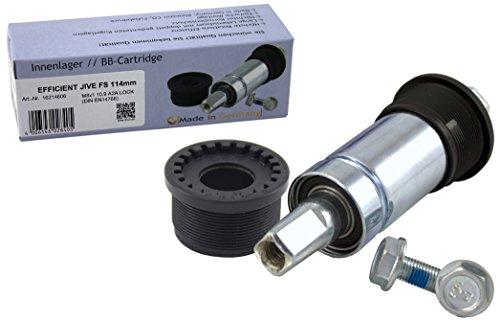 Efficient JIVE Innenlager FS 127mm BSA 1,375 Zoll inklusive M8x1 10.9 A2A Lock Schrauben, 16227606