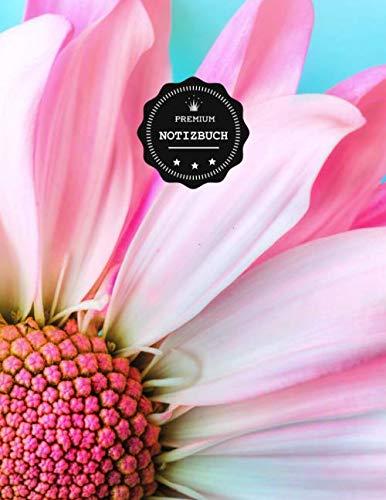 Premium Notizbuch: rosa Blumen Blüte...