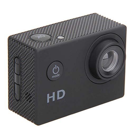 Action Camera Fotocamera Impermeabile Ultra HD 1080P Grandangolare 170 ° 2.0 nella Fotocamera Sportiva Videocamera DV con Kit di Accessori di Montaggio E Batteria Rimovibile