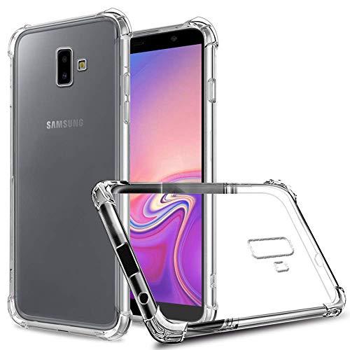 Capa Anti Shock Samsung Galaxy J6 Plus 2018, Cell Case, CASJ610, Capa Anti-Impacto, Transparente