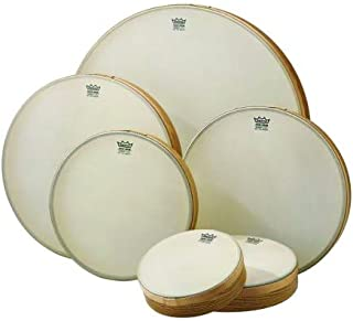 Set of 6 Remo Renaissance Hand Drums (8 - 22 inches; Teen/Adult