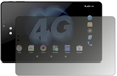 dipos I Blickschutzfolie matt kompatibel mit Allview Viva H1002 LTE Sichtschutz-Folie Bildschirm-Schutzfolie Privacy-Filter