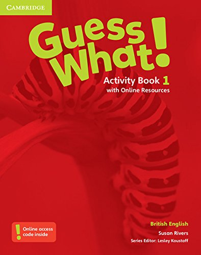 Guess What. 1 - Activity Book