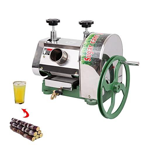 Exprimidor manual de la caña de azúcar 100 libras/H Exprimidor comercial del extractor de la prensa de la caña de azúcar 304 acero inoxidable de la categoría alimenticia
