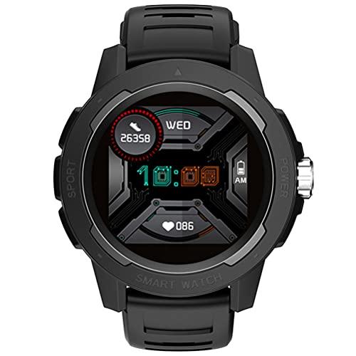 Relojes Para Correr Al Aire Libre Para Hombres Y Mujeres, Bluetooth 4.0 IP67 Reloj Impermeable Para Correr Y Aventuras Compatible Con Monitoreo Del Sueño, Control De Música, Reloj Multifunción,Negro