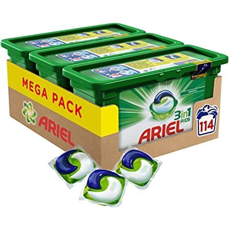 Ariel Professional 3in1 Pods Vollwaschmittel 114 Wäschen (3 x 38)