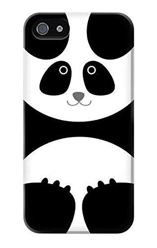 R2085 Panda Minimalist Case Cover For IPHONE 5 5S SE